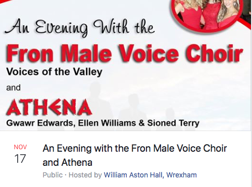 An Evening with the From Male Voice Choir