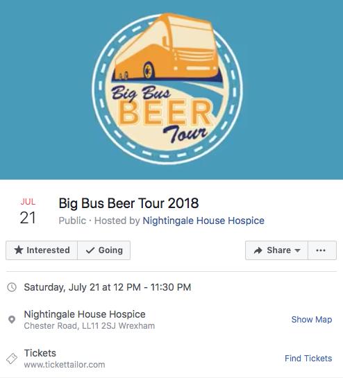Big Bus Beer Tour 2018