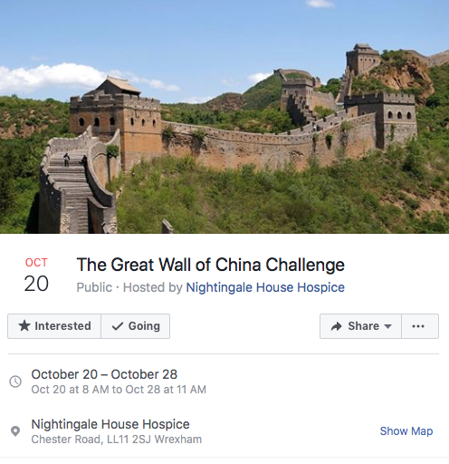 The Great Wall of China Challenge – Nightingale House