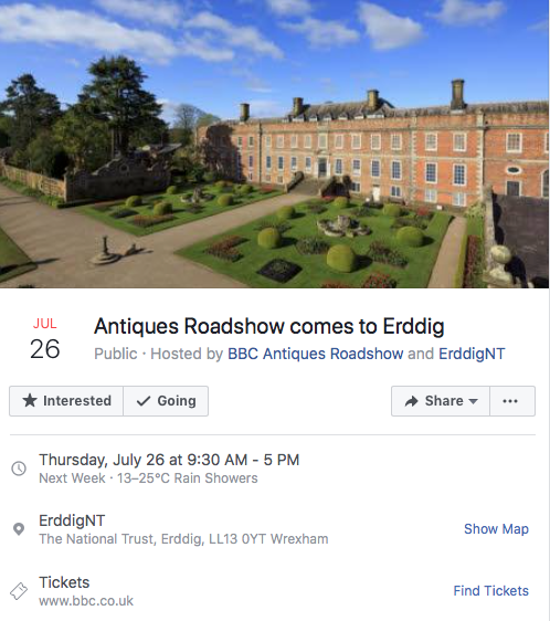 Antiques Roadshow comes to Erddig