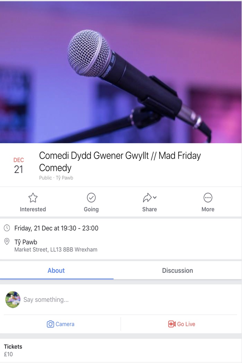 Mad Friday Comedy