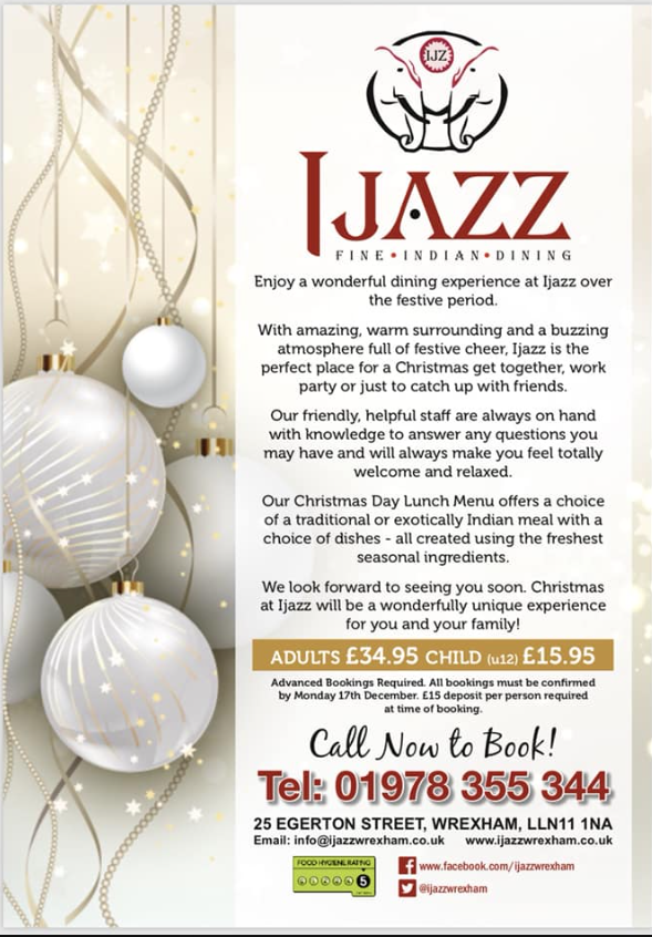 IJazz – Christmas Day Lunch