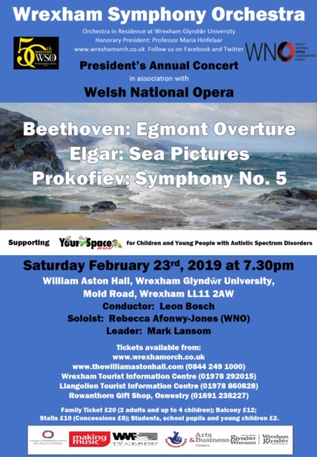 Wrexham Symphony Orchestra – President's Annual Concert