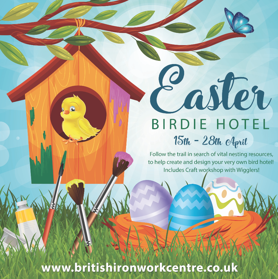 Easter Birdie Hotel  – The Ironworks Centre