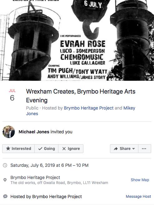 Wrexham Creates, Brymbo Heritage Arts, Evening